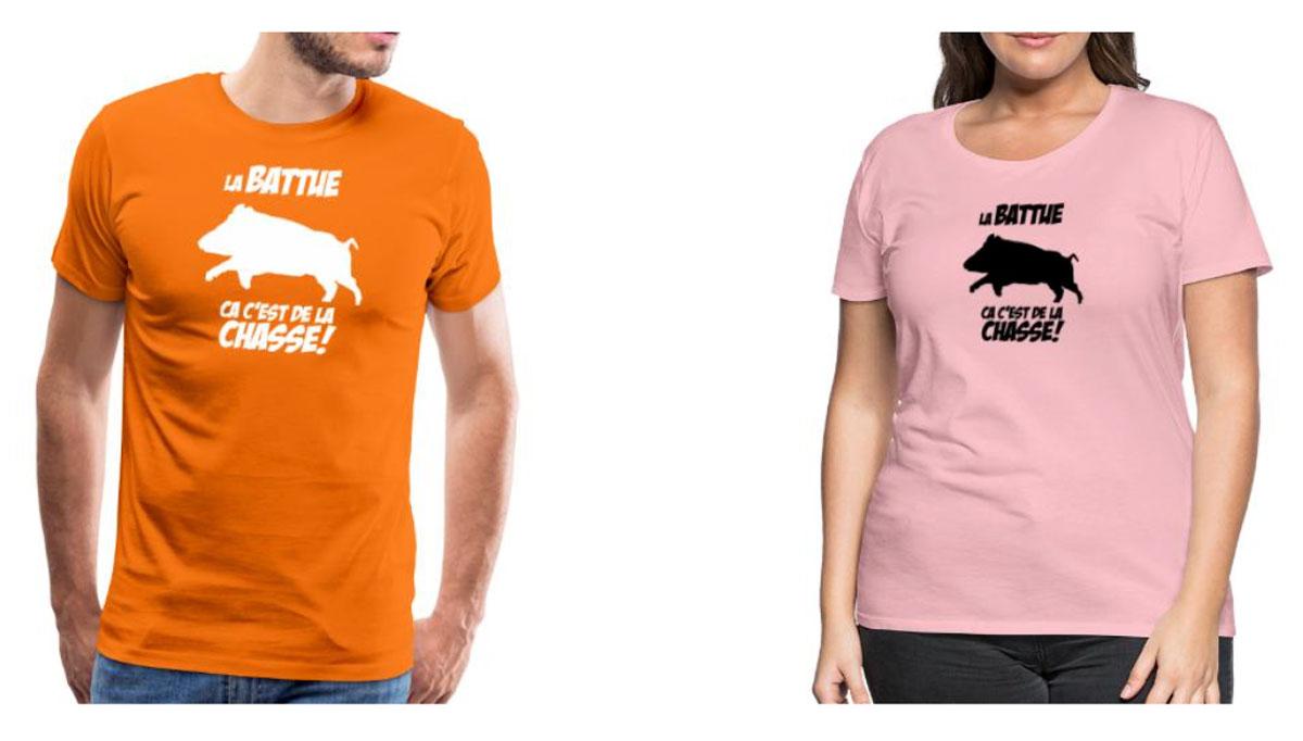 Personnalisez vêtements chasse