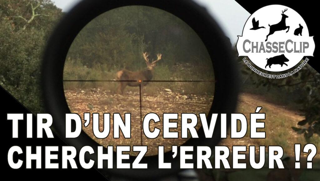 Video de chasse Cherchez l'erreur