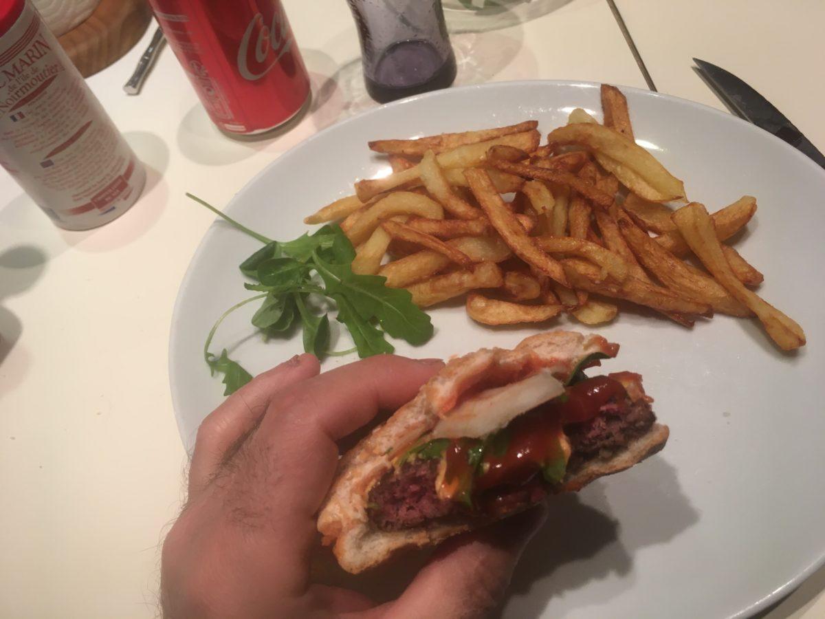 Recette de hamburger éthique