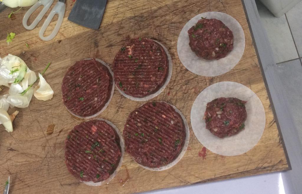 viande de hamburger éthique
